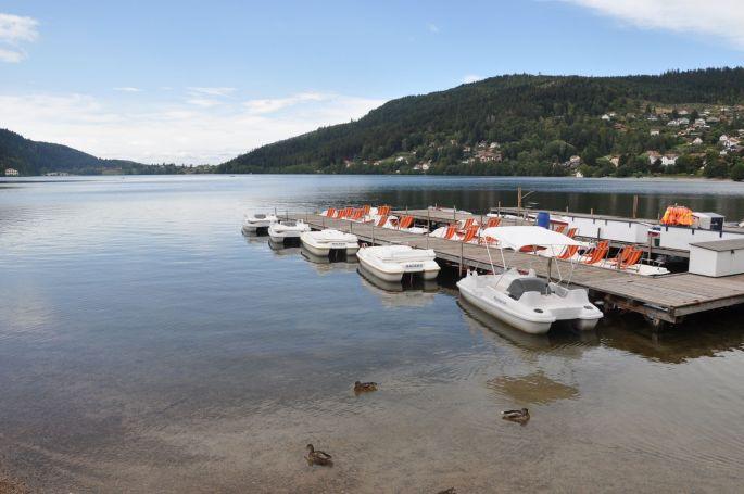 Dans les Vosges, le lac de Gérardmer
