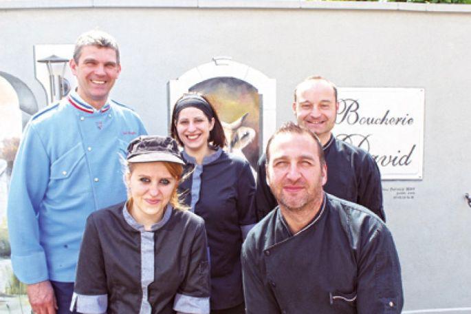 David Boespflug et ses viandes de qualité