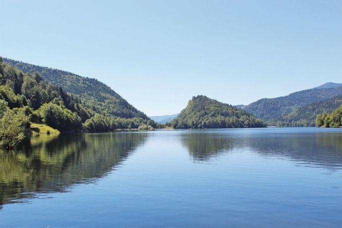 Lac de kruth et alentours for Miroir de l eau