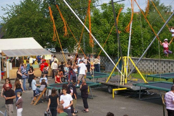 De nombreuses animations et un marché aux puces attendent les visiteurs pour la fête de la Rhubarbe