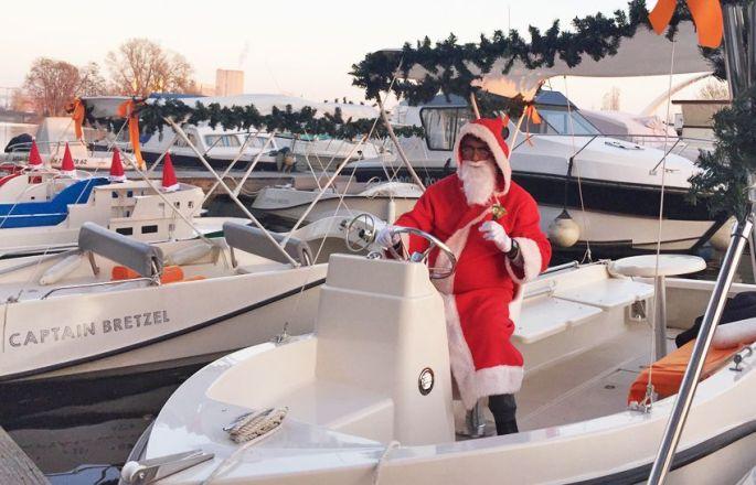 C\'est Papa Noël qui conduit aujourd\'hui !