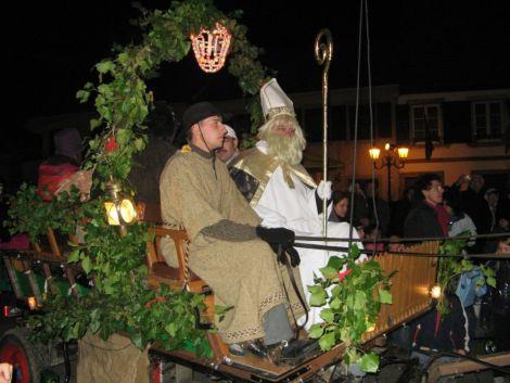Le traditionnel défilé du Saint-Nicolas à Bischwiller
