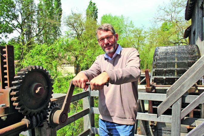 Denis Leroy actionne les rouages de l\'Ecomusée