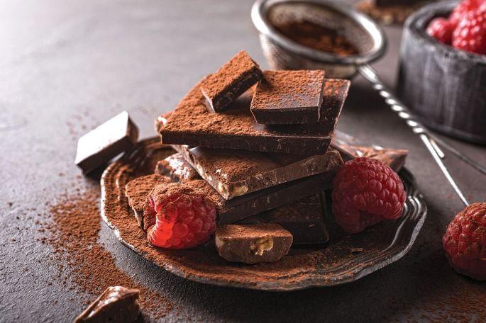 On ne compte plus le nombre d'études qui vantent les mérites du chocolat noir à 70%