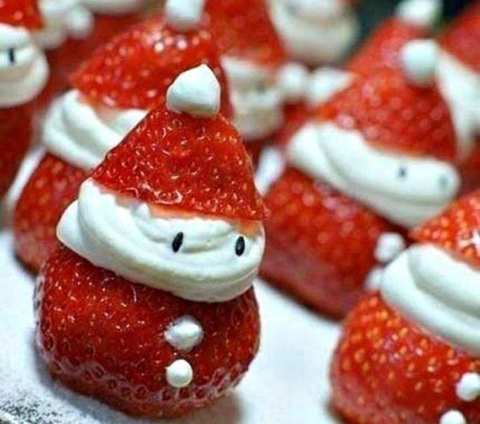 Les fraises père,Noël
