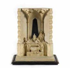 D\'après Jean-Baptiste Pigalle, Maquette du monument du Maréchal de Saxe. Strasbourg, Musée Historique. Photo : M. Bertola