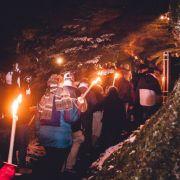 Descente du Rocher de Dabo à la lueur des flambeaux