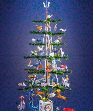 Design sur sapin de Noël