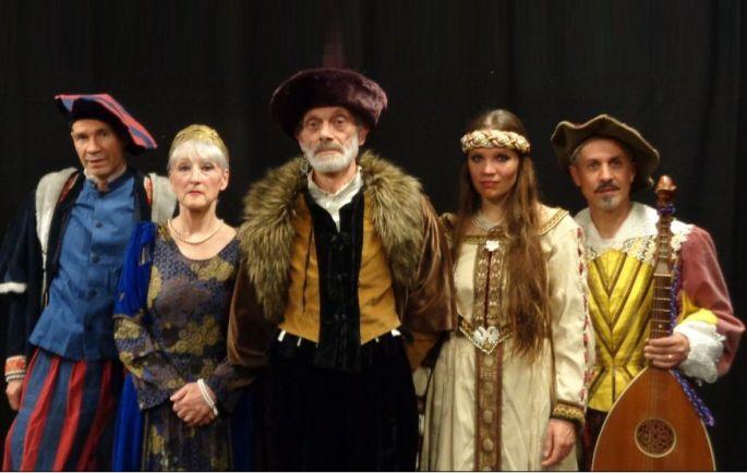 Jouer pour le prince Hamlet par la Cie du Lys