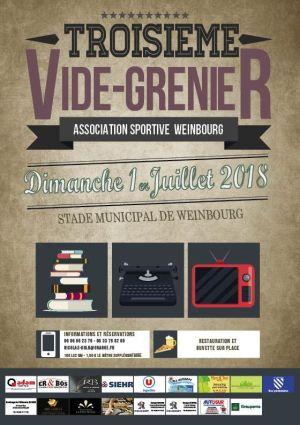 Deuxième Vide Grenier à Weinbourg 2018