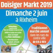 Doïsiger Markt à Rixheim 2019