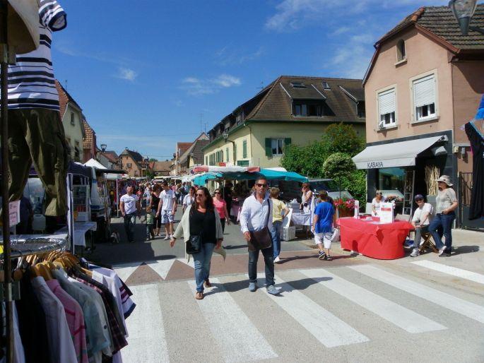La grande braderie commerciale de Rixheim