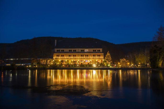 Le Domaine du Lac à Guebwiller, un hôtel et un restaurant