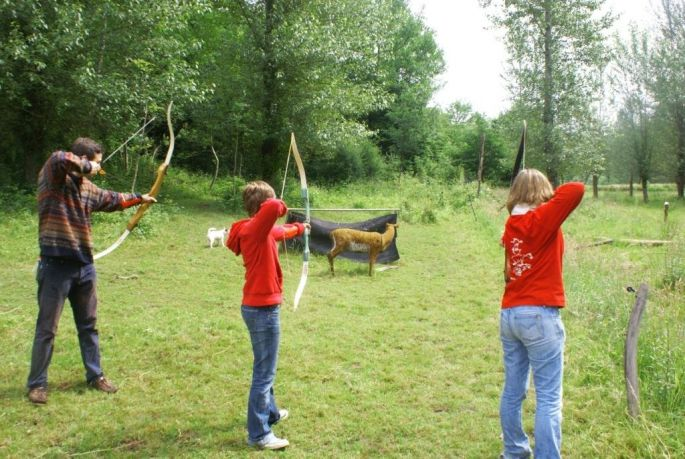 Le tir à l\'arc au Domaine Saint-Loup