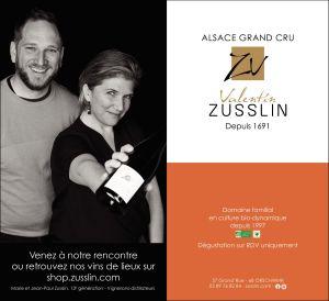 Domaine Valentin Zusslin: La biodynamie au service du terroir