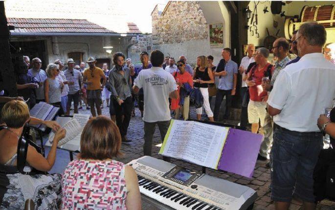 La Dorffascht de Gueberschwihr attire de nombreux villageois et touristes chaque année