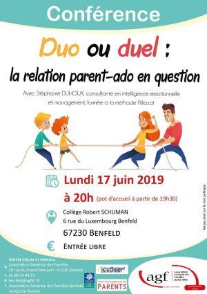 Duo ou Duel : la relation parent-ado en question