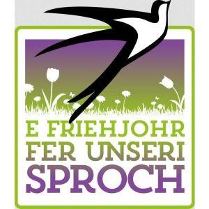 Le logo de l\'opération E Friehjohr fer unseri Sproch