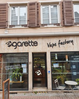La boutique e-Garette à Mulhouse