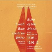 Echo of the moon - I wish blue could be  Water