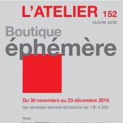 Noël 2018 à Schiltigheim : Atelier 152, boutique éphémère de Noël