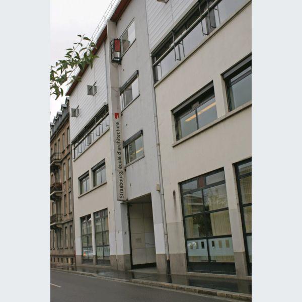Ecole d 39 architecture de strasbourg infos cursus Ecole architecture