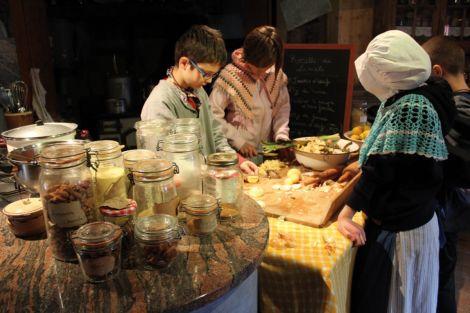 L\'Ecomusée nous plonge dans un village alsacien du début du XXe