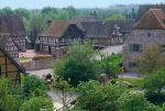 L\'Ecomusée d\'Alsace à Ungersheim est un lieu de découverte et de culture