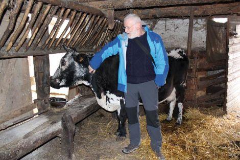 François Kiesler, bénévole et administrateur à l\'Ecomusée, nous raconte la vie d\'un paysan au début du XXe siècle