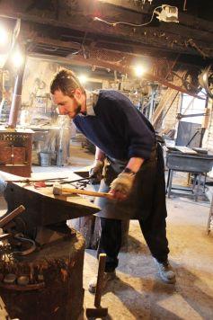 Simon Luquet, le forgeron de l\'Ecomusée