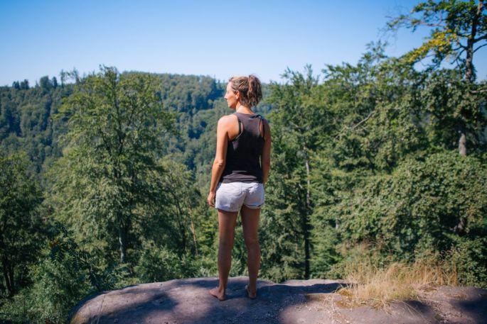 Au coeur de la forêt, dans la région Grand Est