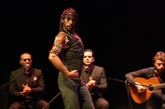 Le danseur Eduardo Guerrero