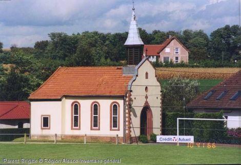 Eglise à Neewiller-près-Lauterbourg