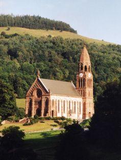 Eglise de Metzeral-Sondernach : vue extérieure