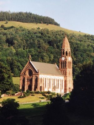 Eglise de Metzeral-Sondernach: vue extérieure