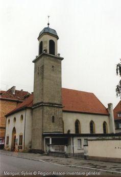 Eglise luthérienne à Neuf-Brisach