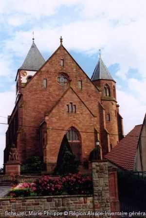 Eglise luthérienne de Schwindratzheim