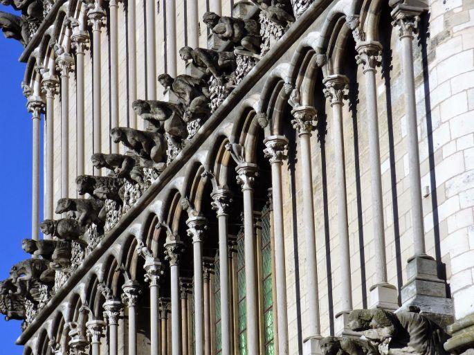 La façade occidentale de Notre-Dame de Dijon