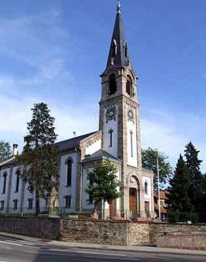 Eglise protestante d\'Oberhausbergen