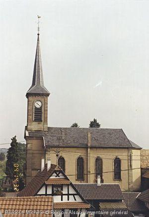 Eglise protestante de Niederhausbergen