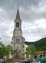 L\'église Saint-Augustin de Moosch.