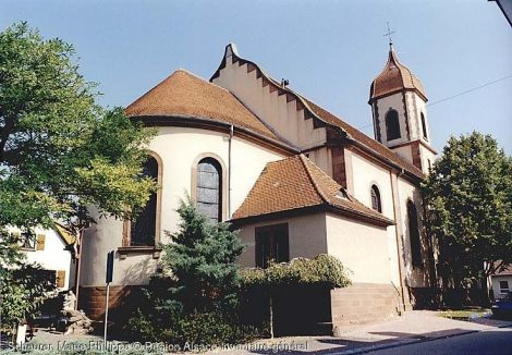Eglise Saint-Barthélemy, Durrenbach