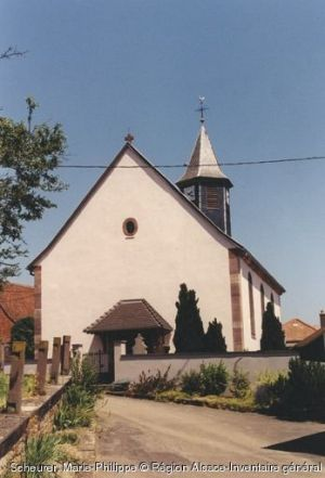 Eglise Saint-Denis, Friedolsheim