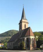 L\'église Saint-Dominique de Vieux-Thann.