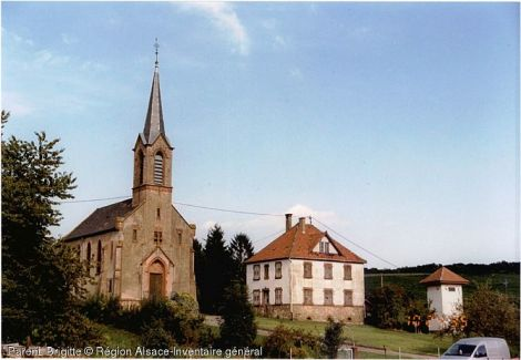 Eglise Saint-Gall, Cleebourg