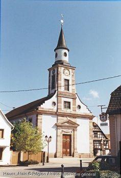 Eglise Saint-Georges, Souffelweyersheim