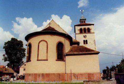 Eglise Saint-Georges, Urschenheim