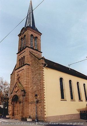 Eglise Saint-Laurent, Dieffenbach-au-Val