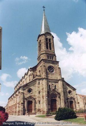Eglise Saint-Léger, Dessenheim