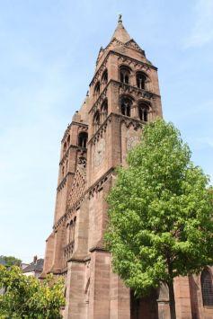 Eglise Saint-Léger, plus ancienne église de Guebwiller